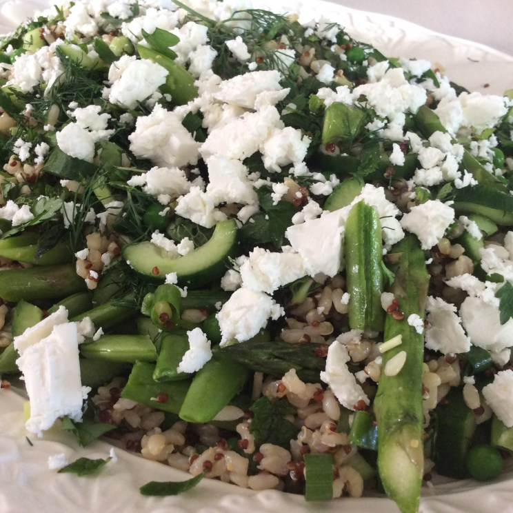 Summertime Rice Salad