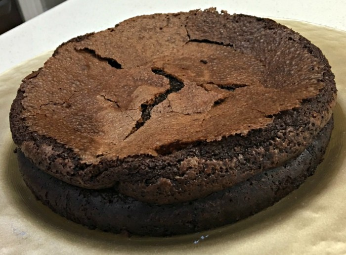 Sugar Free Flourless Chocolate Cake Sour Cream