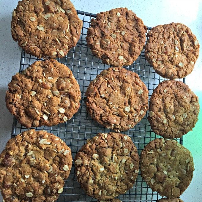 Oat and Apricot Biscuits