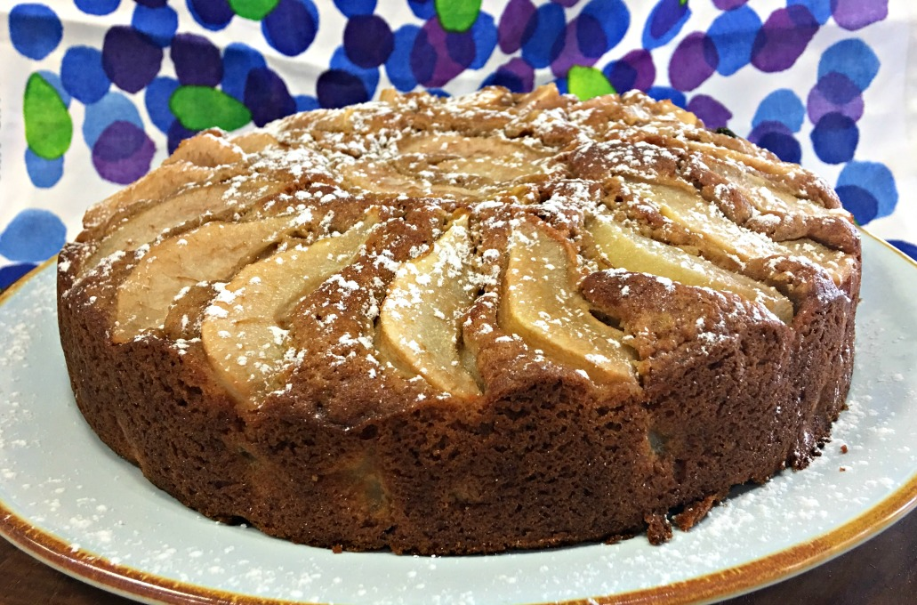 Pear Cake My Edible Archive