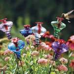 Hummingbird feeder from Garden Gear