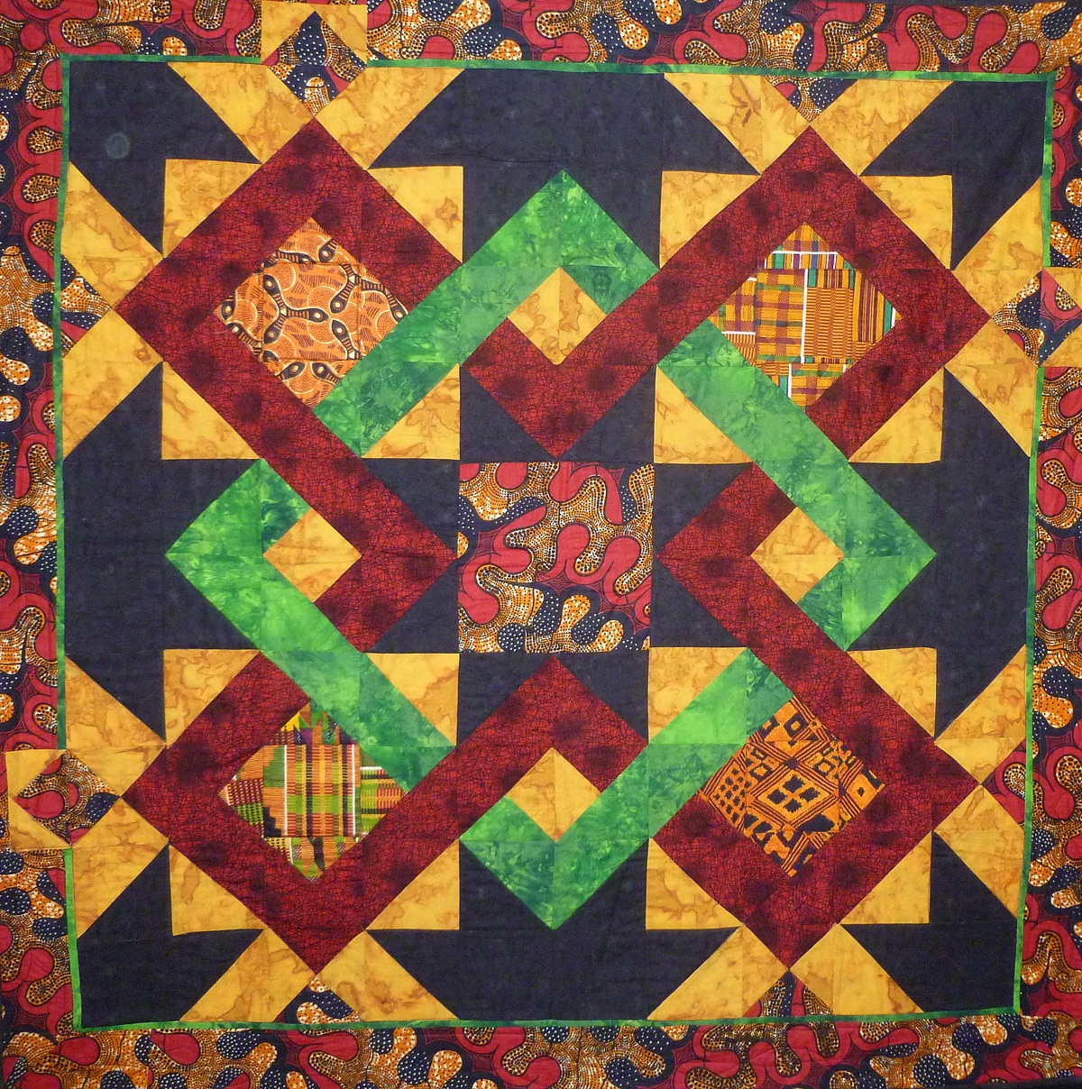 African American Quilters Exhibit Now At Edmonds Library