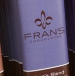 A Fran's Dark Chocolate bar from the Edmonds PCC store.