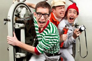 "High-energy musical group ""Recess Monkey"" comes to the ECA Saturday."