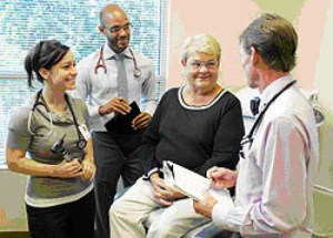 The Bastyr Clinic at the Edmonds Senior Center. (Photo courtesy of Edmonds Senior Center website)