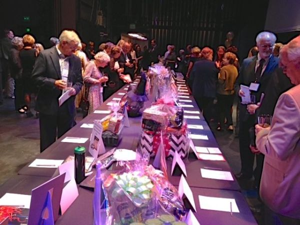 The Edmonds Center for the Arts was filled with eager bidders Saturday night during the annual ECA gala fundraising auction.