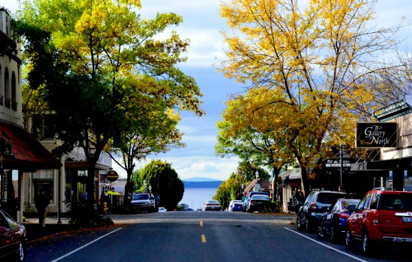 From Larry Vogel, it's looking like fall on Main Street, as the autumnal equinox arrives.