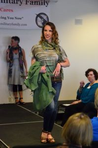 A scene from last year's Operation Fashion Forward show. (Photo by Larry Vogel)