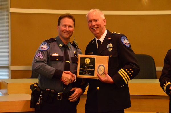 Winner of the David N. Stern Officer of the Year Award, Sgt. Michael Richardson's work refining the mission, values and goals of the department has energized and renewed the focus of the Department at every level.