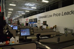 Ample cash register stands will mean short checkout waits for customers