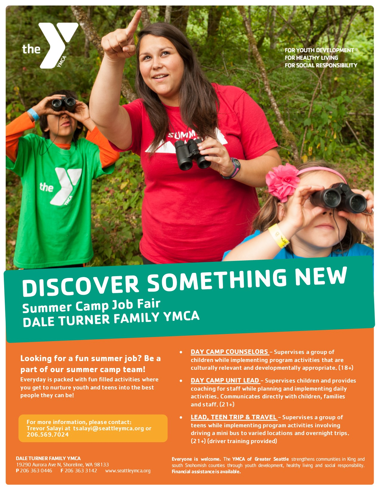 dale turner family ymca hiring for the summer my edmonds news updated 2 2016 summer camp jobs flyer