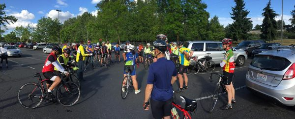 Cascade Bicycle Club encourages riders to take a test ride. (Photo from Dave Fairbanks).