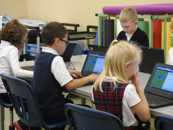 Students at Edmonds-based Holy Rosary School took part in this week's national Code-a-Thon competition. Students in grades 3-8 participated in Learning.com's first Code-a-Thon, a nationwide competition that ran this week from Nov. 14-18,  to provide an introduction to coding skills for elementary and middle school students.