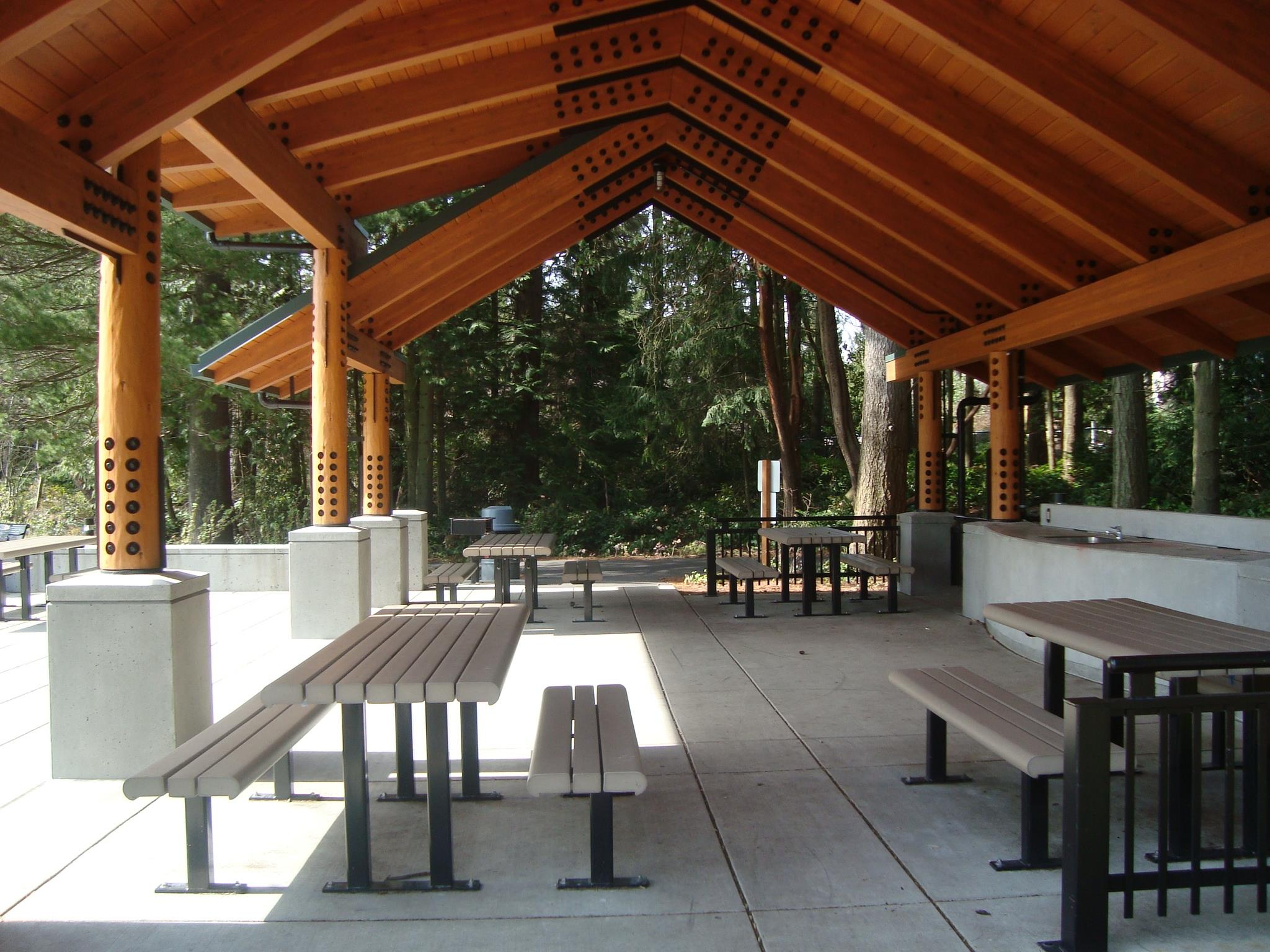 Edmonds City Park Picnic Shelter