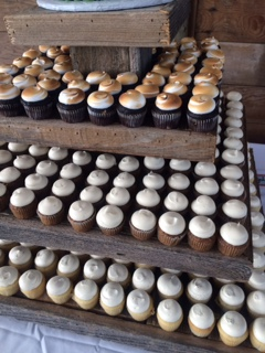 Selling Cup Cakes For Fundraiser On Transparency