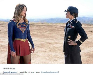 Supergirl and general Lucy Lane
