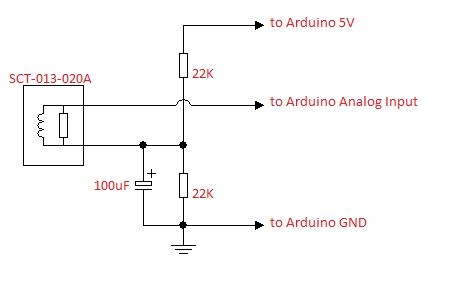 Arduino House current limit system (SCT-013-030