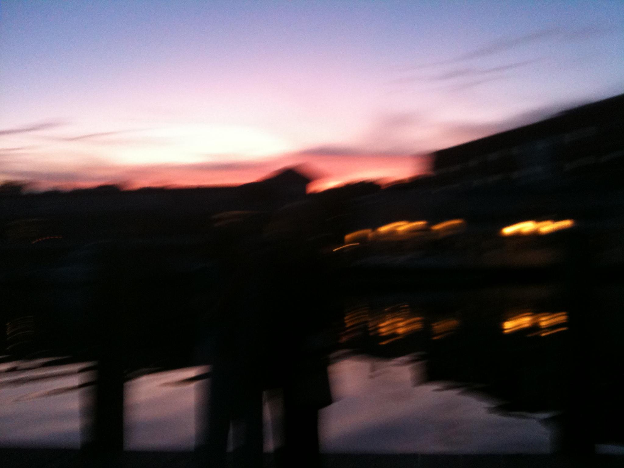 Vibrant Skies at Water's Edge