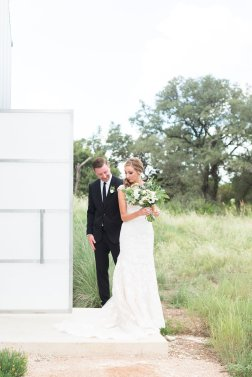 A Modern Texas Hill Country Wedding
