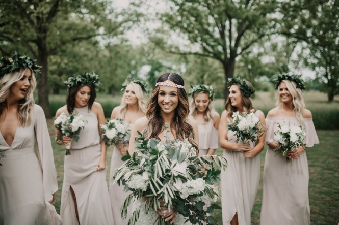 Boho Glam Wedding - Cloverleaf Farms-56
