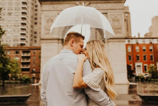 Greenwich Village Engagement Photos-18