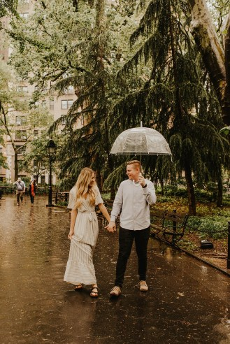 Greenwich Village Engagement Photos-2