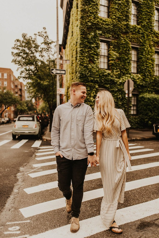 Greenwich Village Engagement Photos-33