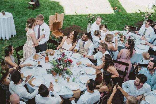 Megan and Patrick - Backyard Boho Wedding-122
