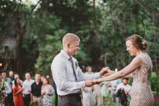 Megan and Patrick - Backyard Boho Wedding-139