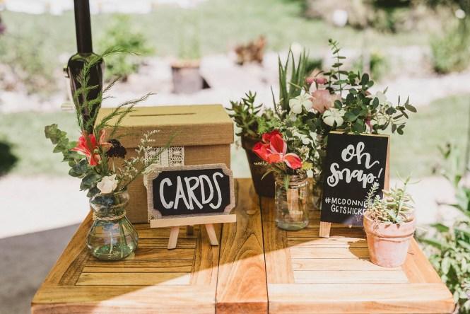 Megan and Patrick - Backyard Boho Wedding-18