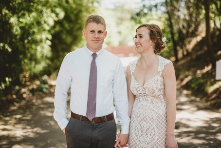 Megan and Patrick - Backyard Boho Wedding-33