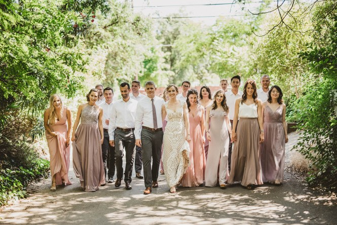 Megan and Patrick - Backyard Boho Wedding-35