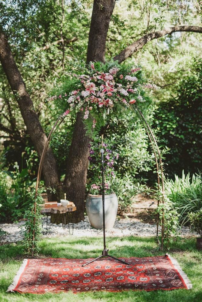 Megan and Patrick - Backyard Boho Wedding-68