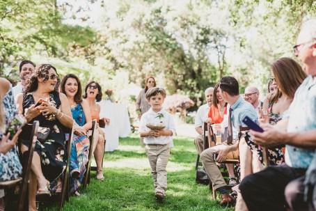 Megan and Patrick - Backyard Boho Wedding-77