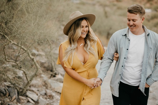 Piestewa Peak Engagement Photos-13