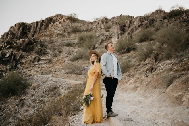 Piestewa Peak Engagement Photos-23