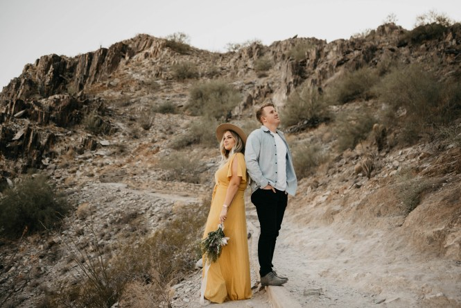 Piestewa Peak Engagement Photos-23
