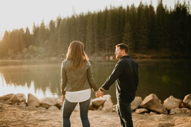 Stephanie and Brett - Tahoe Engagement Session-11