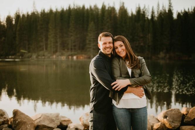Stephanie and Brett - Tahoe Engagement Session-17