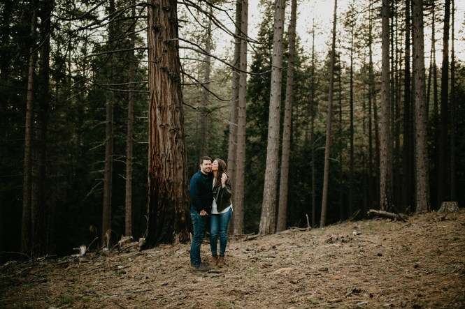 Stephanie and Brett - Tahoe Engagement Session-24