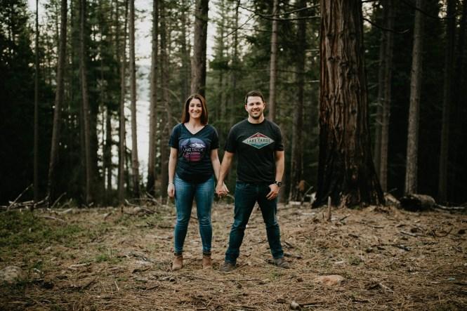 Stephanie and Brett - Tahoe Engagement Session-25