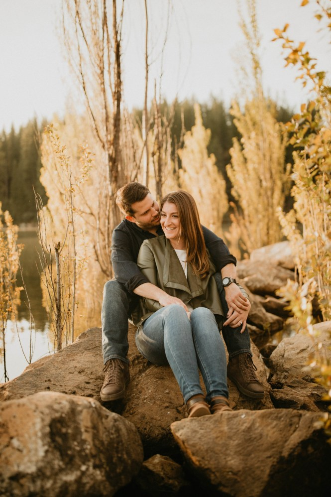 Stephanie and Brett - Tahoe Engagement Session-6