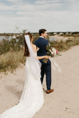 Backyard Shelter Island Wedding-17