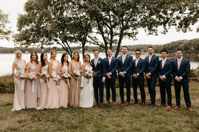 Backyard Shelter Island Wedding-52