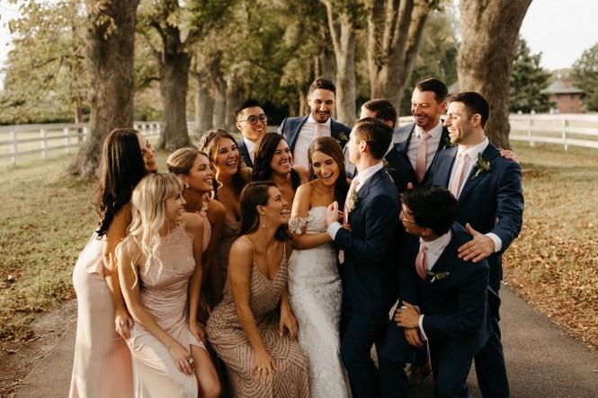 Backyard Shelter Island Wedding-57