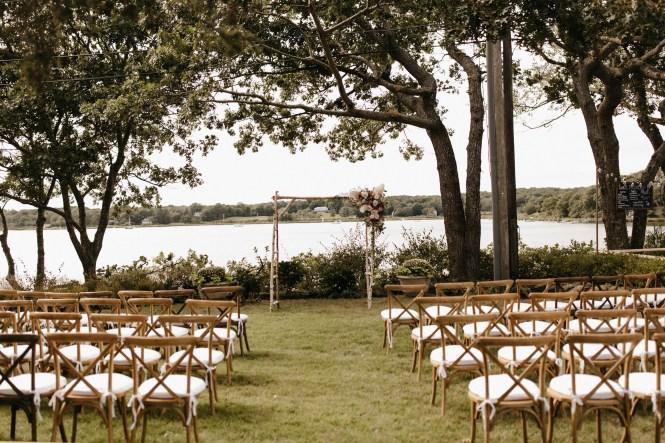 Backyard Shelter Island Wedding-58