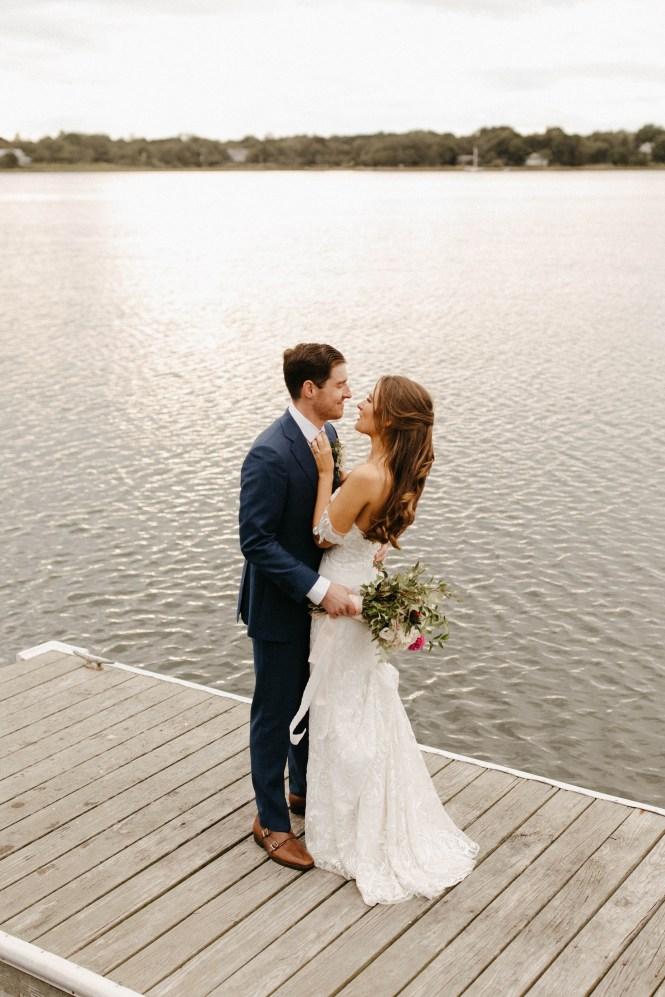 Backyard Shelter Island Wedding-84