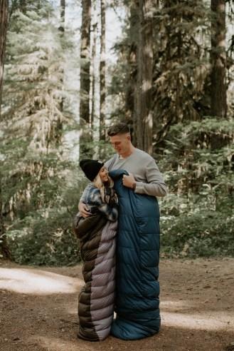 Camping Engagement Shoot-1
