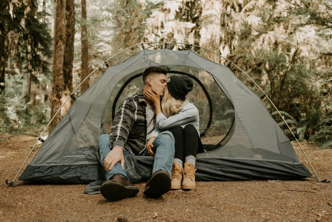 Camping Engagement Shoot-18