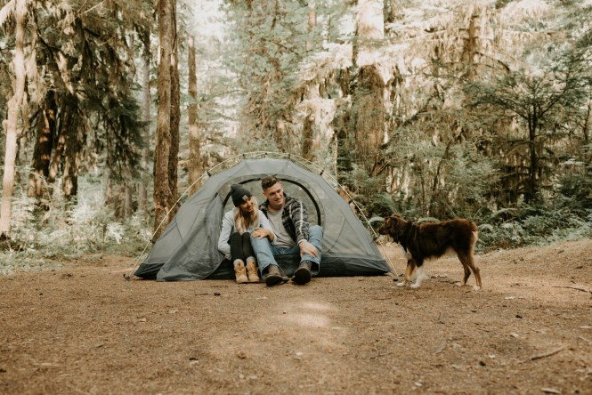 Camping Engagement Shoot-24